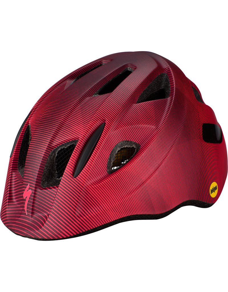 Specialized Mio Toddler Helmet - MB/MIPS - Berry / Acid Pink Refraction