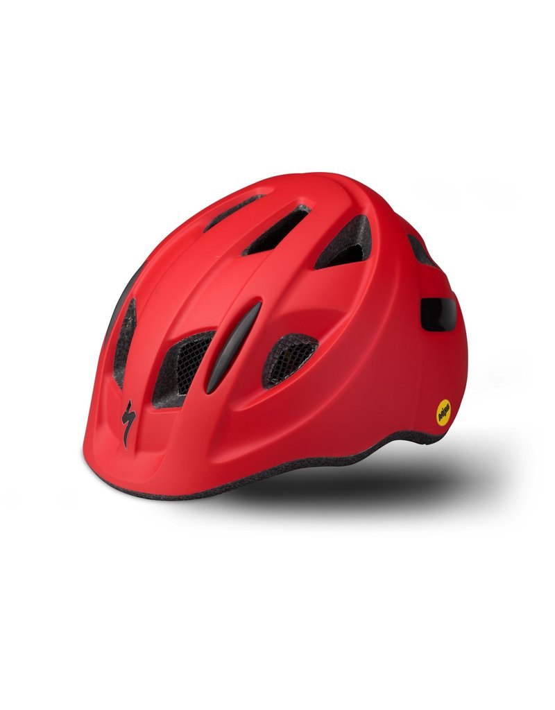 Specialized Mio Toddler Helmet with Magnetic Buckle and MIPS - Flo Red