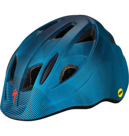 Specialized Mio Toddler Helmet with Magnetic Buckle and MIPS - Blue / Aqua Refraction