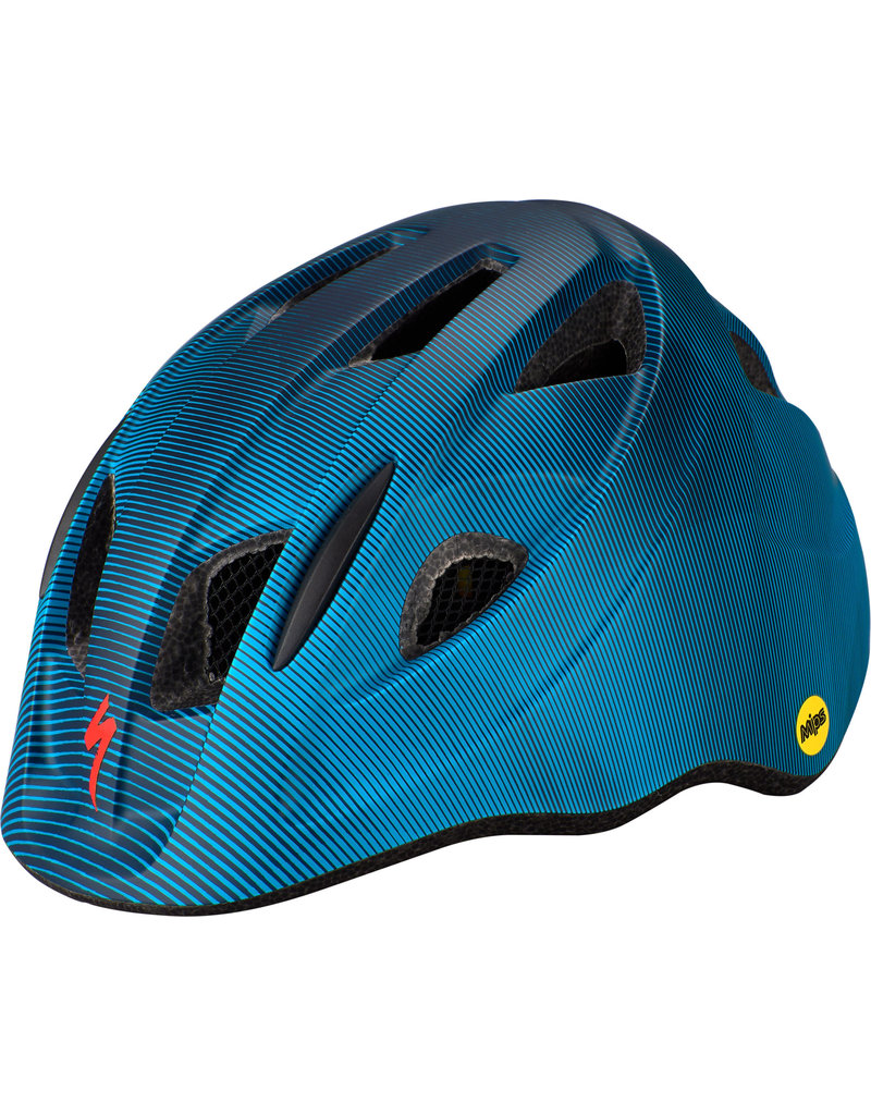 Specialized Mio Toddler Helmet - MB/MIPS - Blue / Aqua Refraction