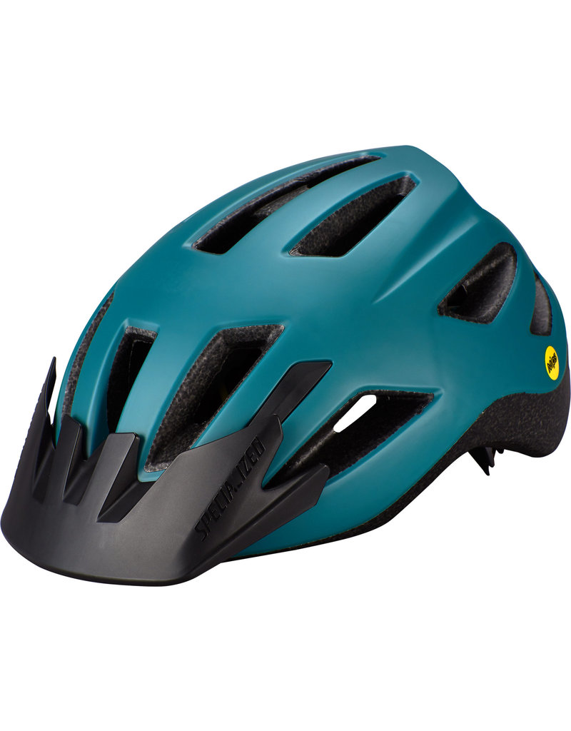 Specialized Shuffle Youth Helmet with LED and MIPS -  Dusty Turquoise