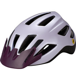 Specialized Shuffle Child Helmet with LED and MIPS - UV Lilac / Cast Berry