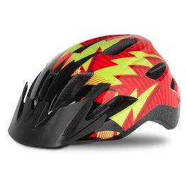 Specialized Shuffle Child Helmet - Rocket Red / Black Lightning