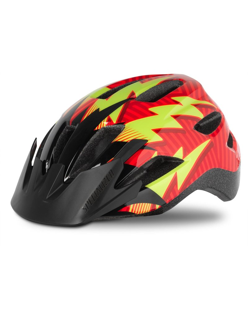 Specialized Shuffle Child Helmet - Rocket Red / Black Lightning