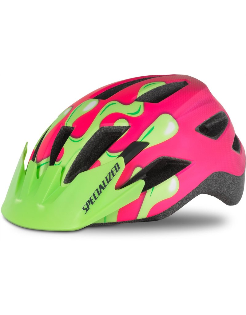 Specialized Shuffle Youth Helmet - Acid Pink Slime