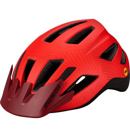 Specialized Shuffle Child Helmet - Rocket Red / Crimson Dot