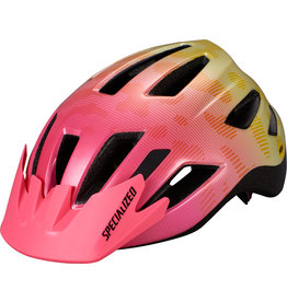 Specialized Shuffle Youth Helmet with LED and MIPS -  Yellow / Acid Pink