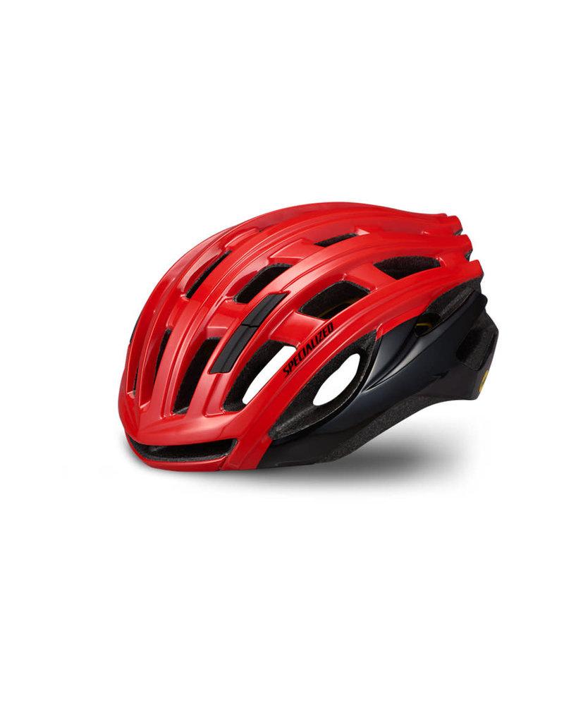 Specialized Propero III Helmet - ANGi/MIPS - Flo Red / Tar Black