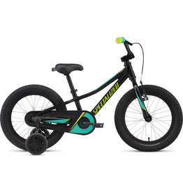 "Specialized Riprock Coaster 16"" - Tarmac Black / Emerald / Hyper Green"