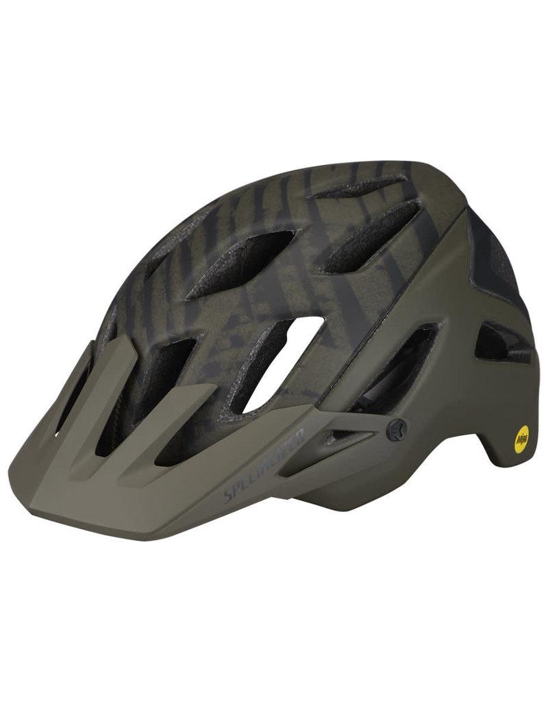 Specialized Ambush Helmet - ANGi/MIPS - Satin Oak Green Wild -