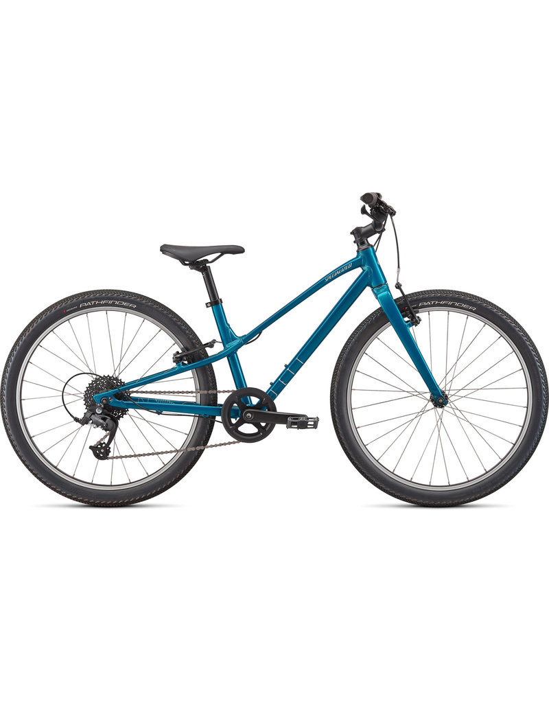 Specialized Jett 24 -  Gloss Teal Tint / Flake Silver