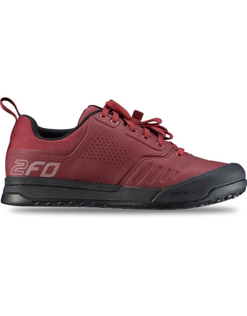 Specialized 2FO Flat 2.0 Mountain Bike Shoes - Crimson -