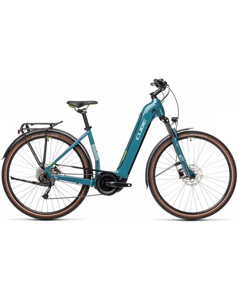 Cube Cube Touring One 500 Easy Entry 2021 - Blue / Green