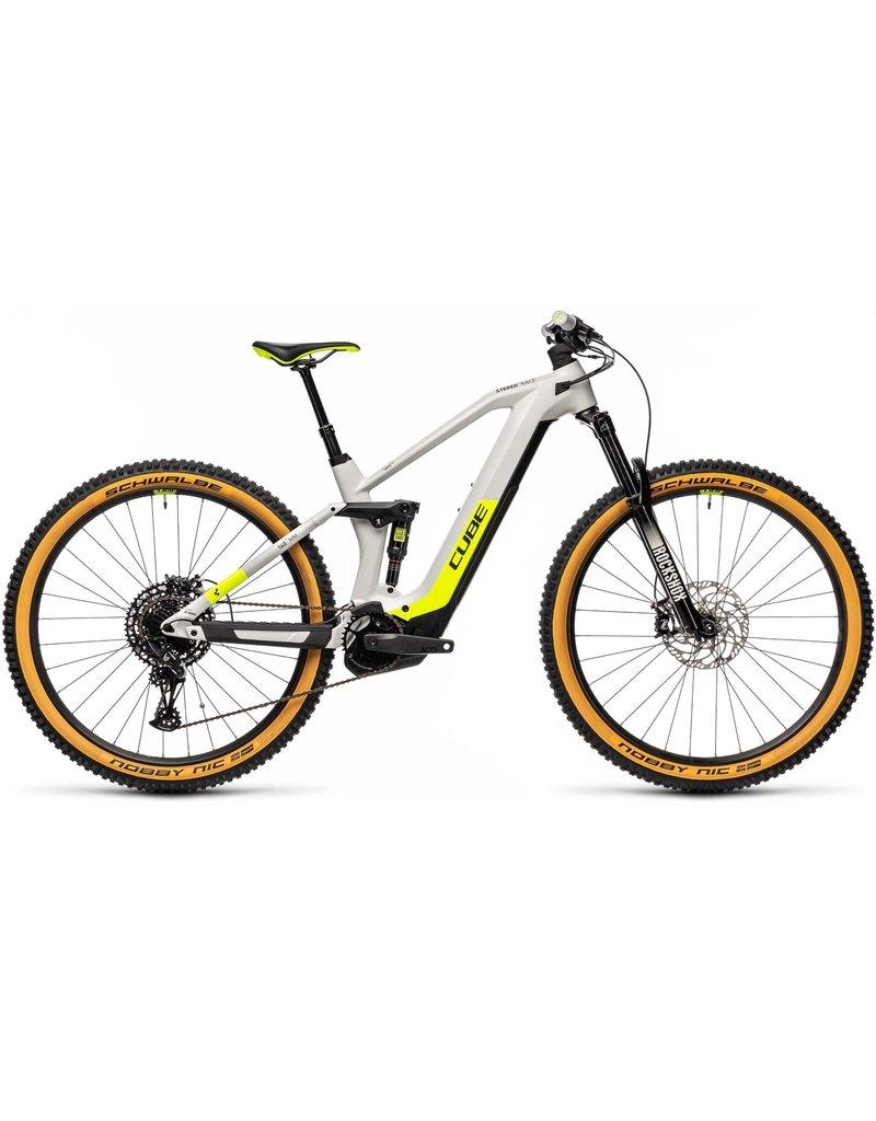 Cube 2021 Stereo 140 HPC Race 625 - Grey / Yellow -