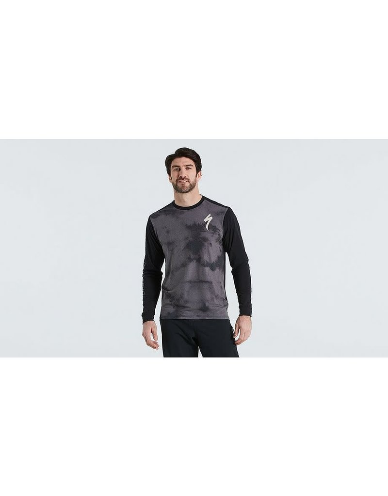 Altered Trail Jersey LS - Mens - Smoke -