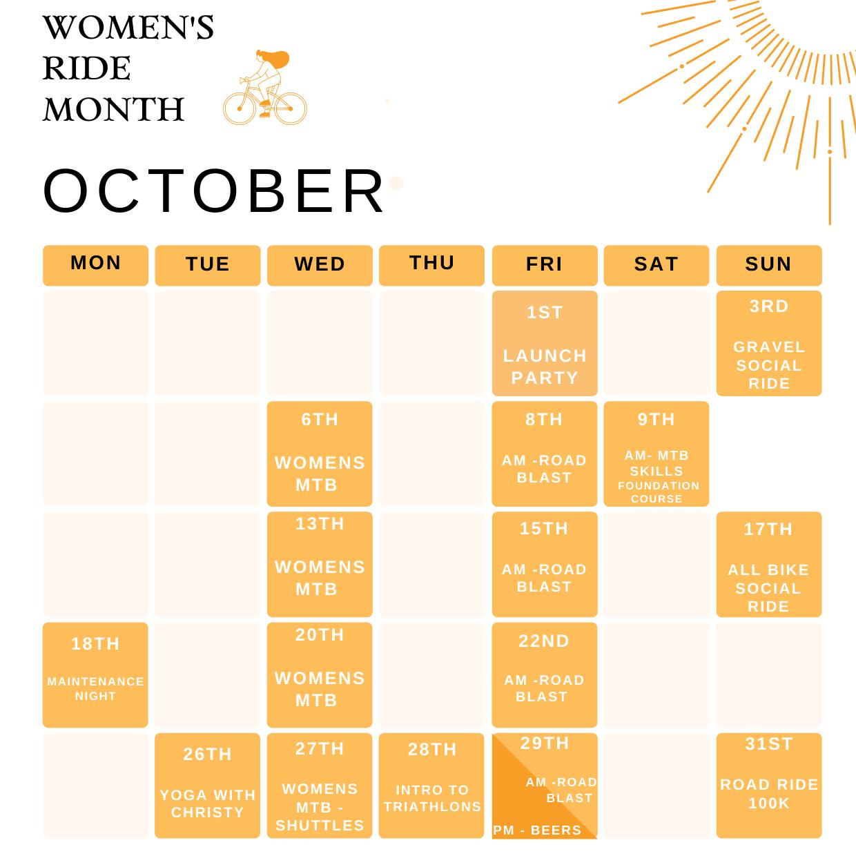 WRM Calendar