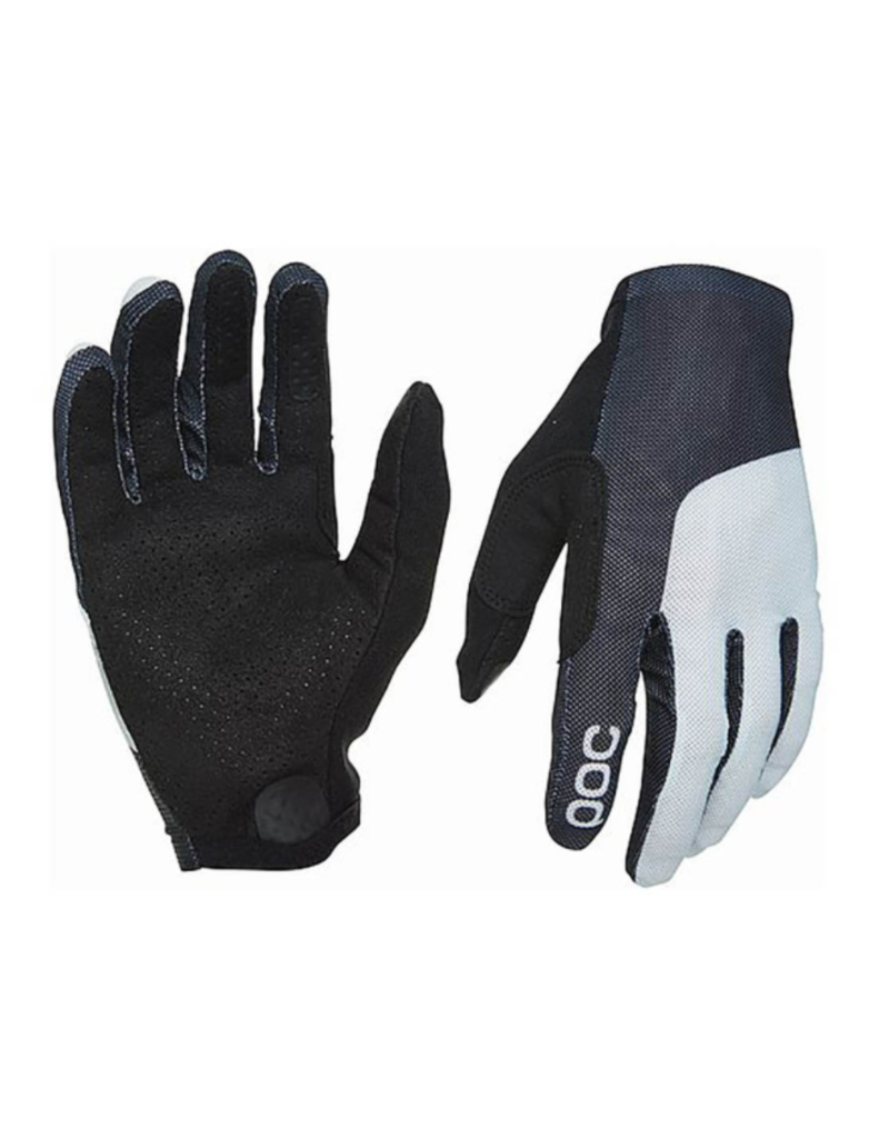 Poc Essential Print Glove - Uranium Black/Oxolane Grey - LRG