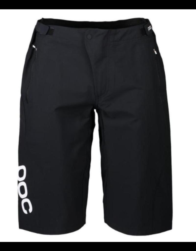 POC Resistance Enduro light Shorts CARBON BLACK - Extra Large