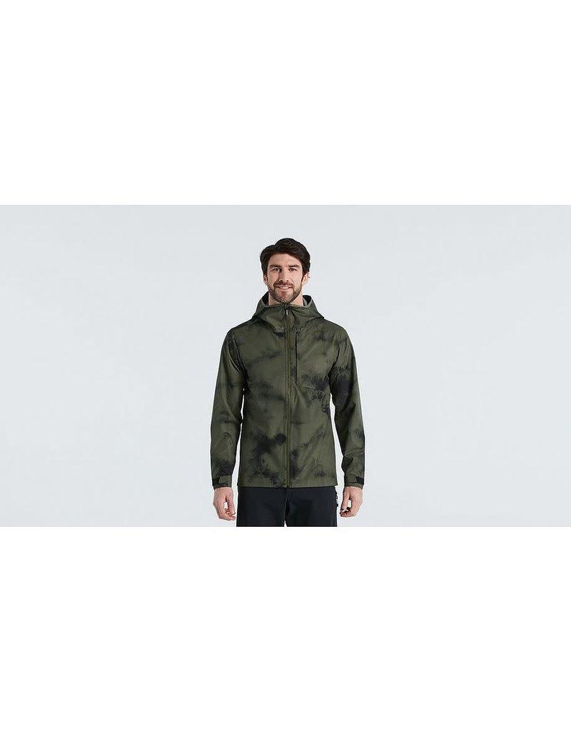 Specialized Altered Trail Rain Jacket - Mens - Oak Green  -