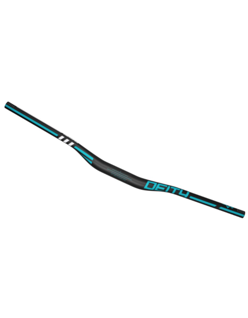 Deity Handlebar Skywire 800 x 25mm, 35mm Clamp - Turquoise
