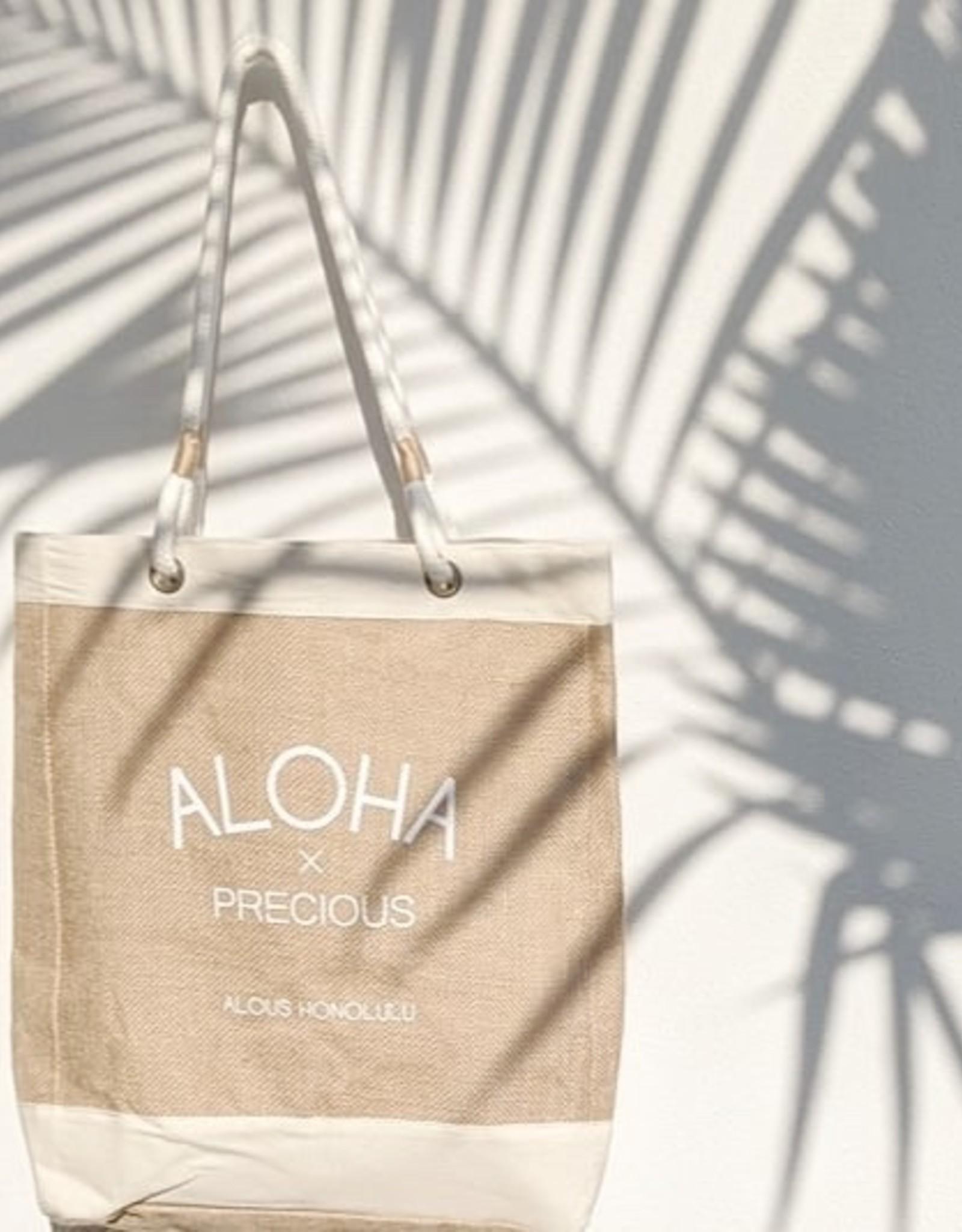 Alous ALOHA×PRECIOUS unisex  Tote Bag