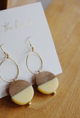 On The Beach On The Beach - circle pierced earrings