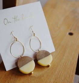 On The Beach On The Beach - circle pierced earrings