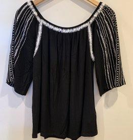 maʻemaʻe Enbroidery Blouse