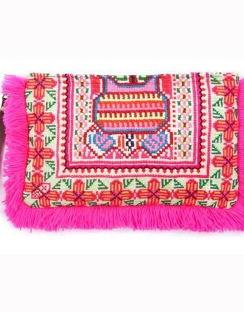JADE Tribe - Eliz Canvas Fringe