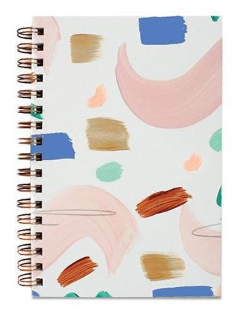 Moglea Moglea - Painted Notebook Seashape