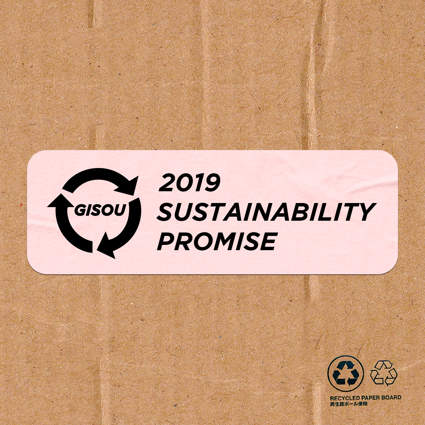 SUSTAINABILITY PROMISE 2019