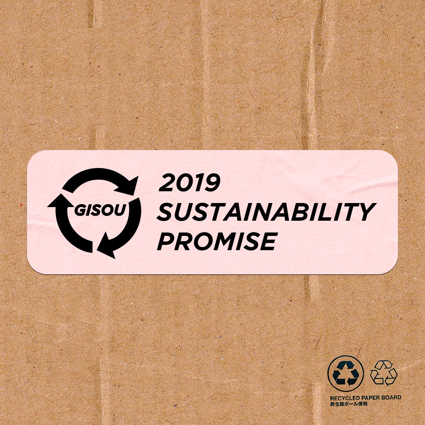 SUSTAINABILITY PROMISE 2019