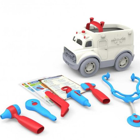 Green Toys Ambulance & Doctor's Kit by Green Toys