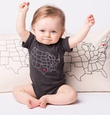 Counter Couture Michigan Love Onesie by Counter Couture