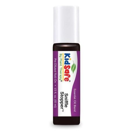 Plant Therapy Sniffle Stopper KidSafe Pre-Diluted Essentail Oil Roll-On