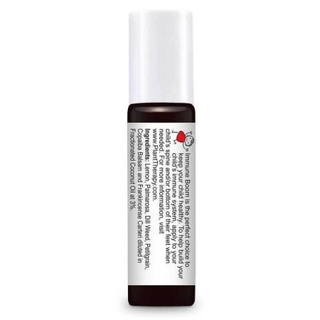 Plant Therapy Immune Boom KidSafe Synergy Pre-Diluted Essentail Oil Roll-On