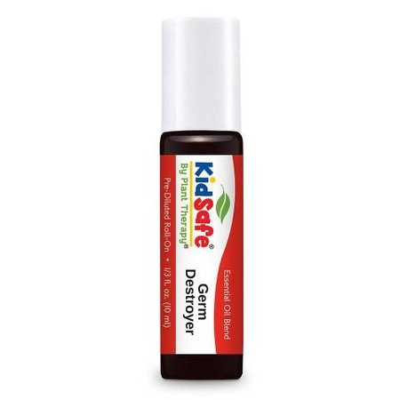 Plant Therapy Germ Destroyer KidSafe  Pre-Diluted Essentail Oil Roll-On