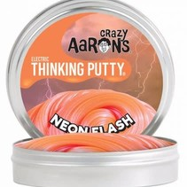 """Crazy Aarons Thinking Putty (2"""" tin) Neon Flash"""