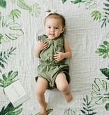 Little Unicorn Photo Blanket - Tropical Leaf by Little Unicorn