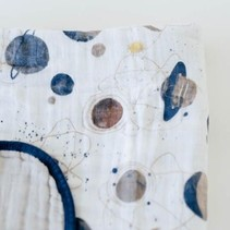 Cotton Muslin Quilt - Planetary