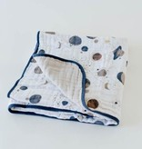 Little Unicorn Cotton Muslin Quilt - Planetary by Little Unicorn