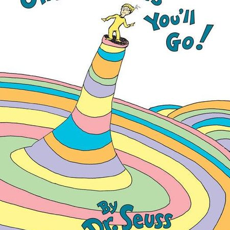 Penguin Random House Oh, The Places You'll Go! by Dr. Seuss