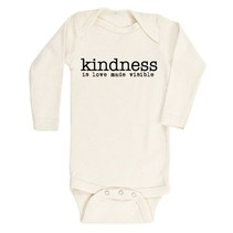 Kindness is Love Made Visible- Long Sleeve Onesie