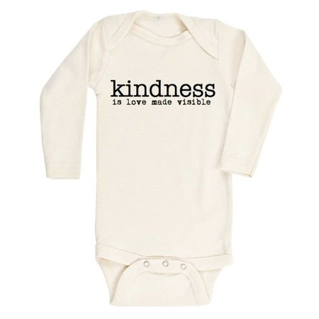 Tenth & Pine Kindness is Love Made Visible- Long Sleeve Onesie