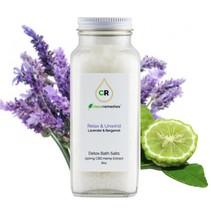 Clean Remedies CBD Lavender Bergamot Bath Salts