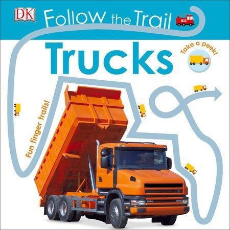 Penguin Random House Follow the Trail Trucks by Penguin Random House