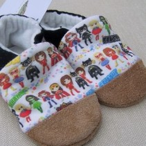 Super Girl Hero Cotton Slippers