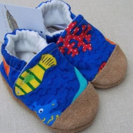Snow & Arrow Under the Sea Cotton Slippers