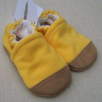Goldenrod Cotton Slippers