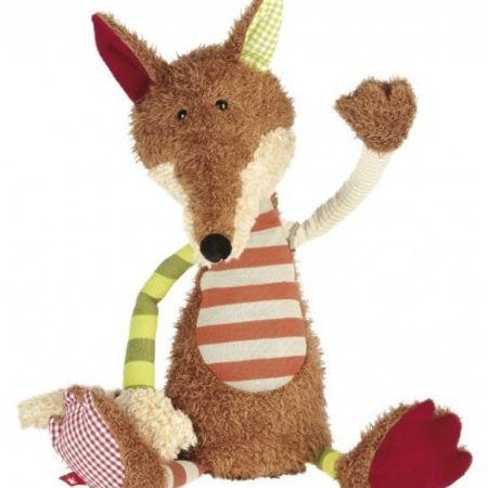 Silikid Patchwork Sweety Striped Fox